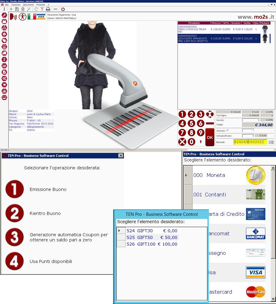 software per le catene di Negozi